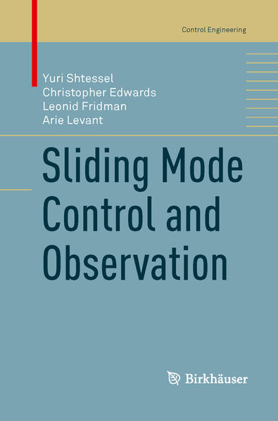 Sliding Mode Control and Observation - Coverbild