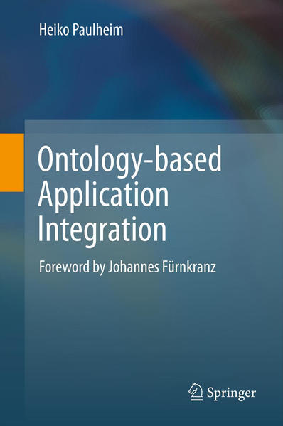 Ontology-based Application Integration - Coverbild