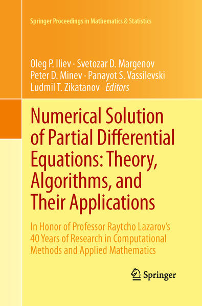 Numerical Solution of Partial Differential Equations: Theory, Algorithms, and Their Applications - Coverbild
