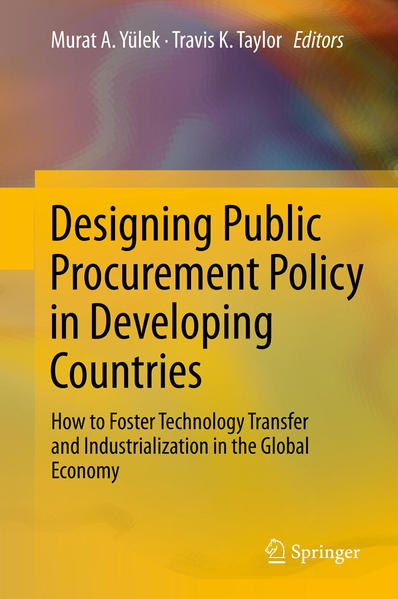 Designing Public Procurement Policy in Developing Countries - Coverbild