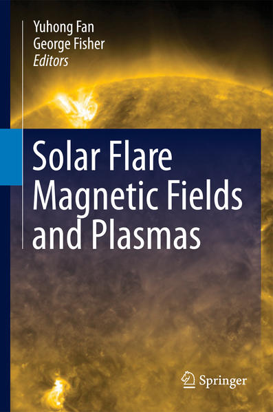 Solar Flare Magnetic Fields and Plasmas - Coverbild