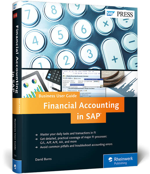 Financial Accounting in SAP: Business User Guide - Coverbild