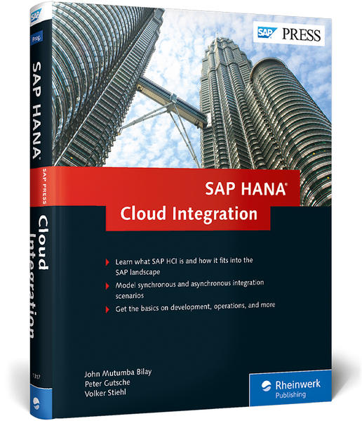 SAP HANA Cloud Integration - Coverbild