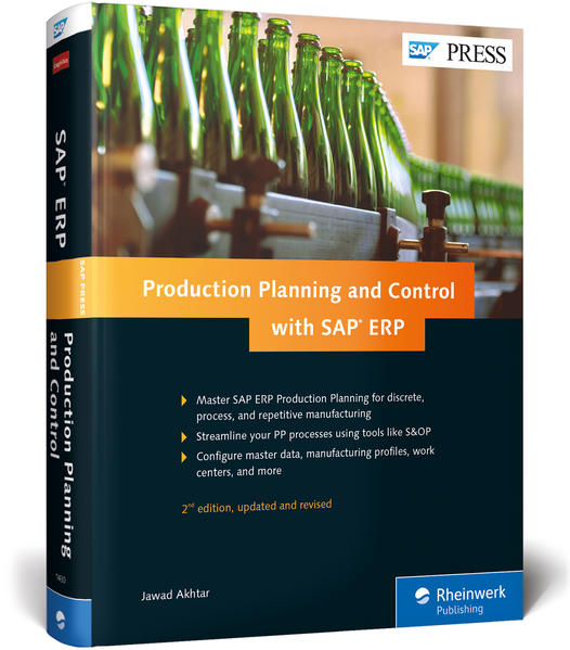 Production Planning and Control with SAP ERP - Coverbild