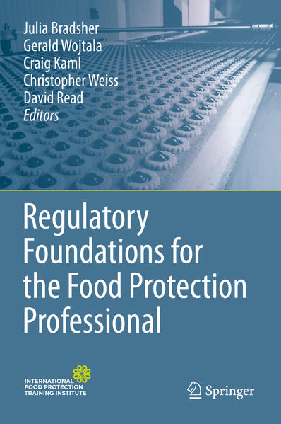 Regulatory Foundations for the Food Protection Professional - Coverbild