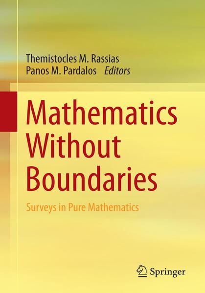 Mathematics Without Boundaries - Coverbild