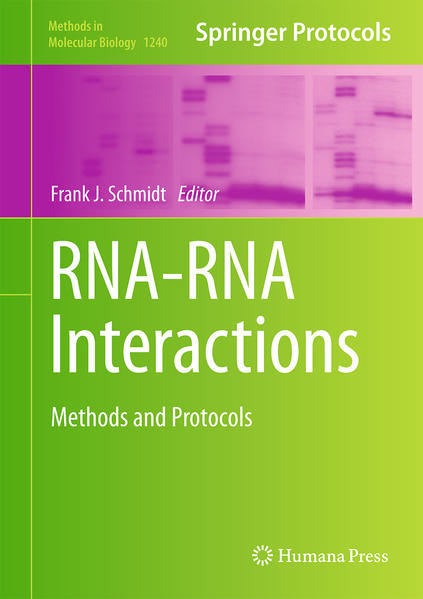 RNA-RNA Interactions - Coverbild