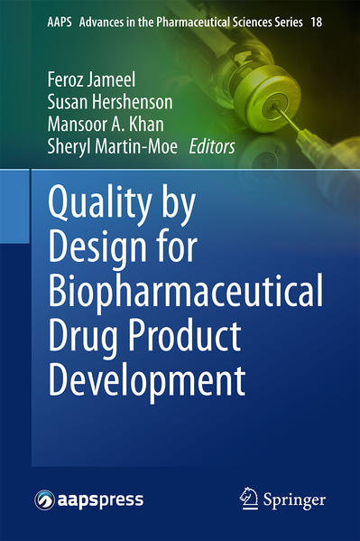Quality by Design for Biopharmaceutical Drug Product Development - Coverbild