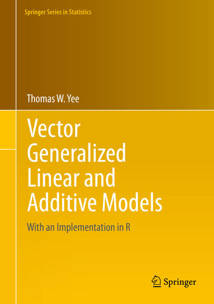 Vector Generalized Linear and Additive Models - Coverbild