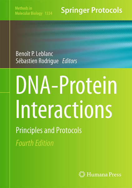 DNA-Protein Interactions - Coverbild