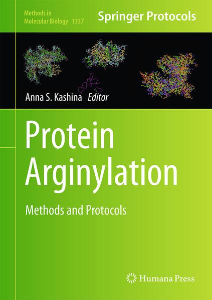 Protein Arginylation - Coverbild