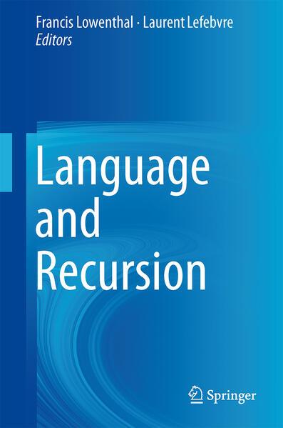 Language and Recursion - Coverbild