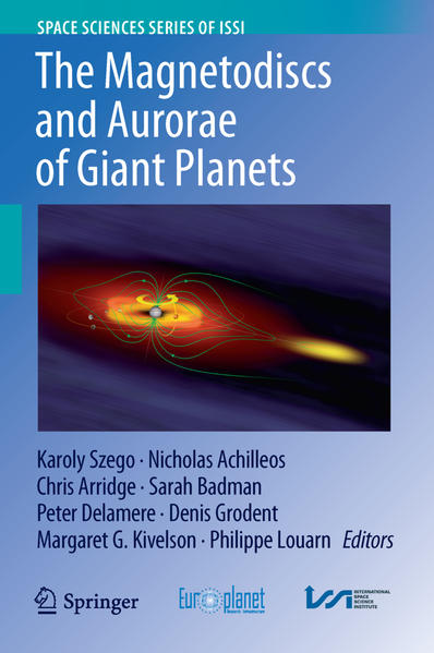 The Magnetodiscs and Aurorae of Giant Planets - Coverbild