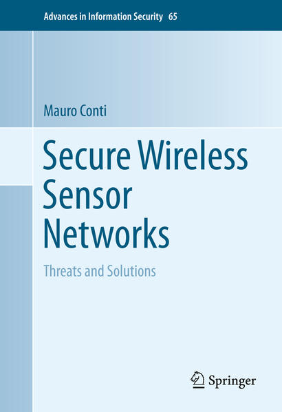 Secure Wireless Sensor Networks - Coverbild