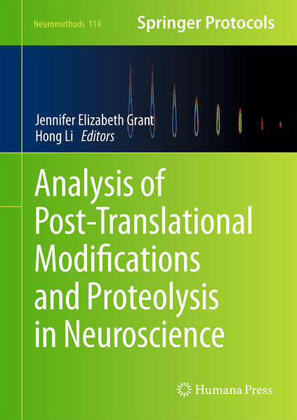 Analysis of Post-Translational Modifications and Proteolysis in Neuroscience - Coverbild
