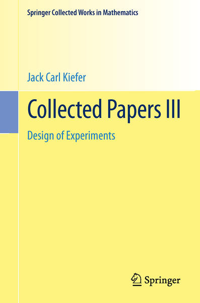 Collected Papers III - Coverbild