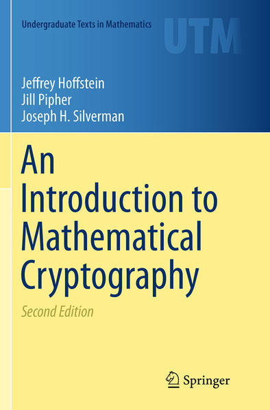 An Introduction to Mathematical Cryptography - Coverbild