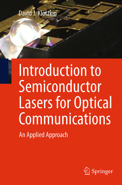Introduction to Semiconductor Lasers for Optical Communications - Coverbild