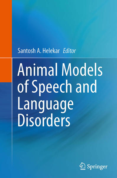 Animal Models of Speech and Language Disorders - Coverbild
