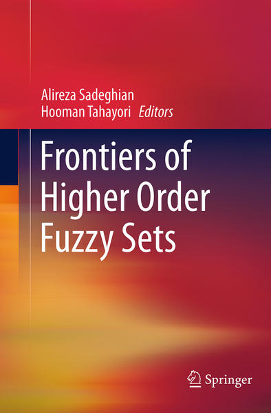 Frontiers of Higher Order Fuzzy Sets - Coverbild
