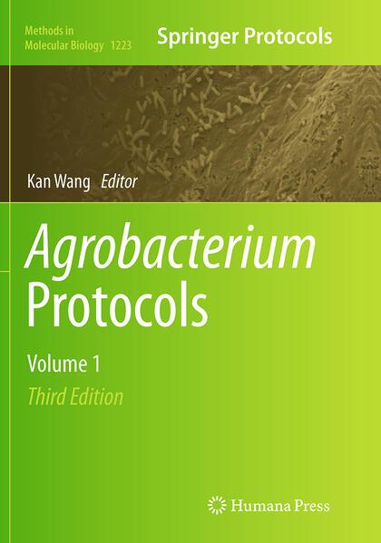 Agrobacterium Protocols - Coverbild