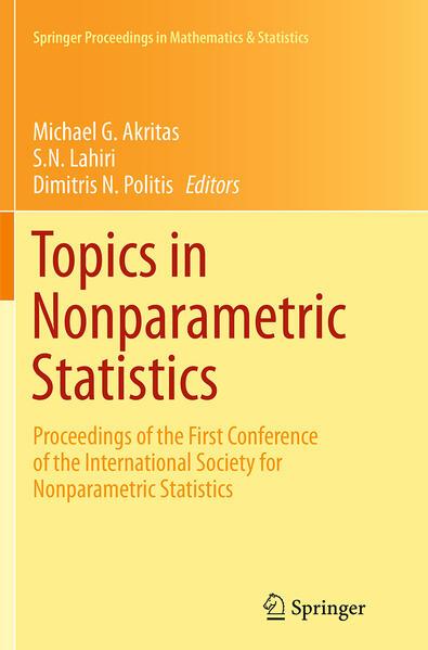 Topics in Nonparametric Statistics - Coverbild