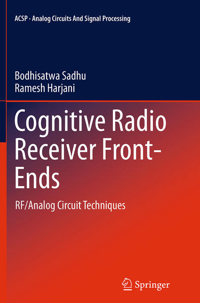 Cognitive Radio Receiver Front-Ends - Coverbild