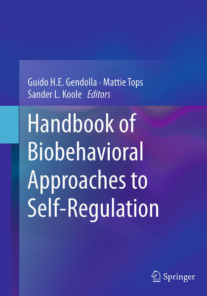 Handbook of Biobehavioral Approaches to Self-Regulation - Coverbild