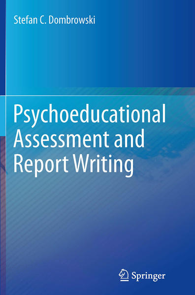 Psychoeducational Assessment and Report Writing - Coverbild