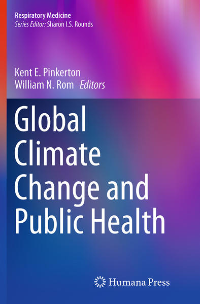 Global Climate Change and Public Health - Coverbild