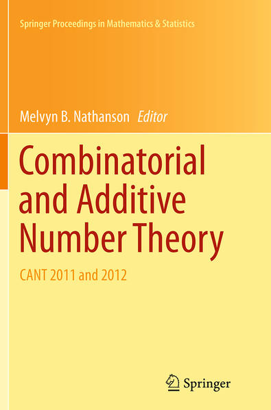 Combinatorial and Additive Number Theory - Coverbild