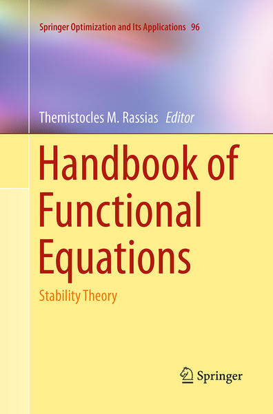 Handbook of Functional Equations - Coverbild