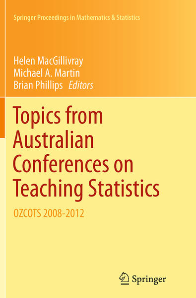 Topics from Australian Conferences on Teaching Statistics - Coverbild