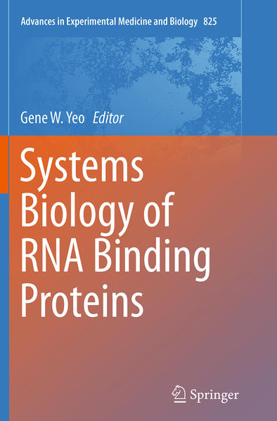 Systems Biology of RNA Binding Proteins - Coverbild
