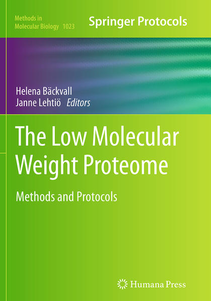The Low Molecular Weight Proteome - Coverbild