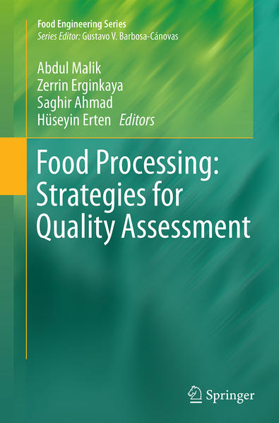 Food Processing: Strategies for Quality Assessment - Coverbild