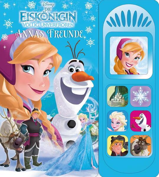 Die Eiskönigin Annas Freunde - Coverbild