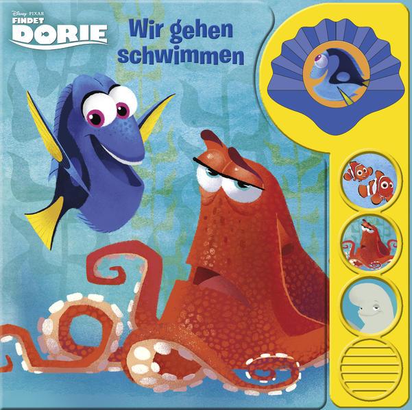 Findet Dorie - Wir gehen schwimmen - Coverbild