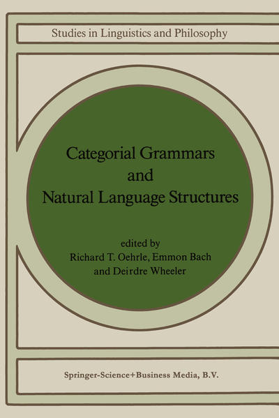 Categorial Grammars and Natural Language Structures - Coverbild