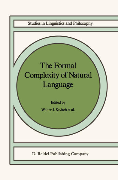 The Formal Complexity of Natural Language - Coverbild