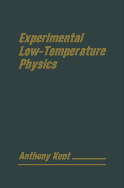 Experimental Low Temperature Physics - Coverbild