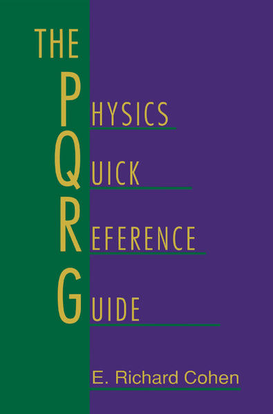 The Physics Quick Reference Guide - Coverbild