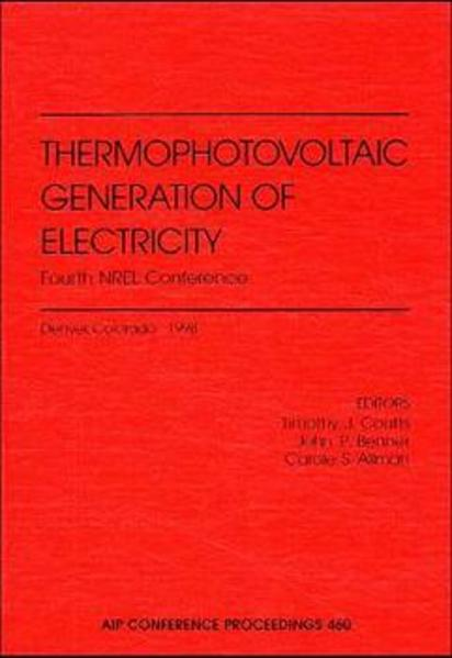 Thermophotovoltaic Generation of Electricity - Coverbild
