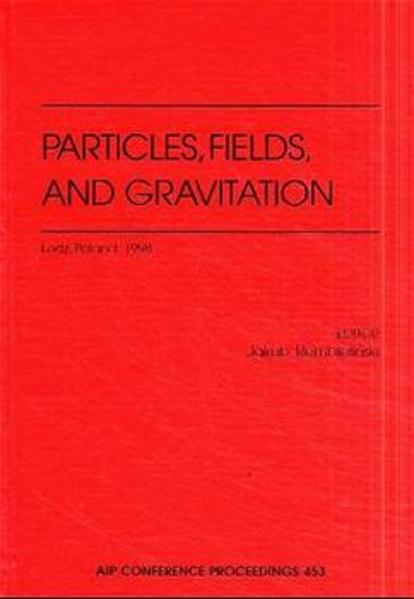 Particles, Fields, and Gravitation - Coverbild