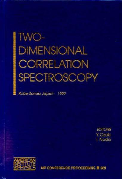 Two-Dimensional Correlation Spectroscopy - Coverbild