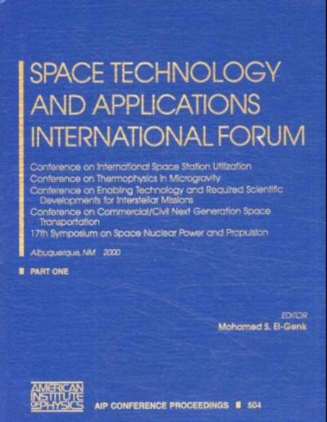 Space Technology and Applications International Forum - 2000 - Coverbild