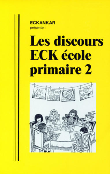 Les Discours ECK école primaire 2 - Coverbild