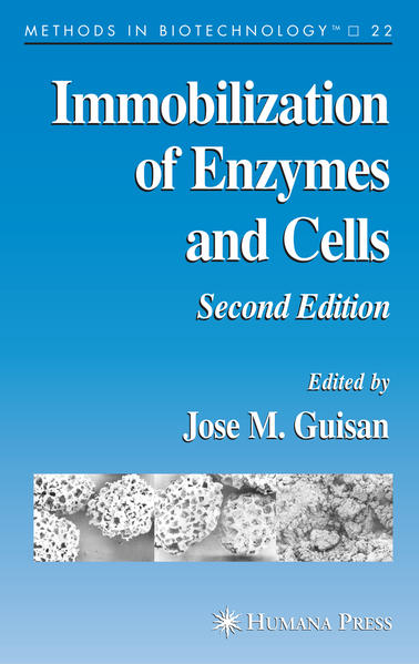 Immobilization of Enzymes and Cells - Coverbild