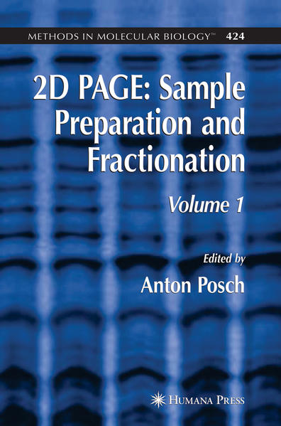 2D PAGE: Sample Preparation and Fractionation - Coverbild