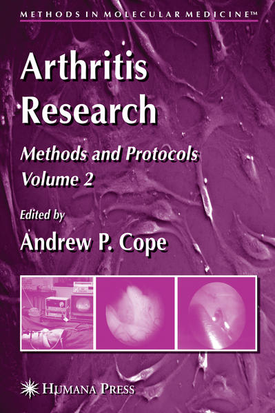 Arthritis Research - Coverbild